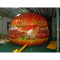 Quality Inflatable giant advertising hamburge / inflatable product replica / giant promotion inflatables for sale