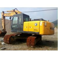 China secondhand original hyundai R215-7 Excavator wholesale