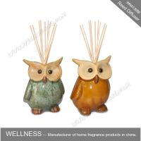China Cute colorful animal shaped ceramic reed diffuser for home decoration wholesale