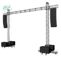 China Exhibition Scaffolding 250mm LED Screen Goal Post Truss wholesale