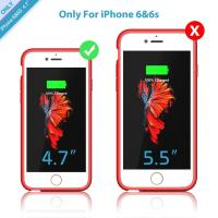 China Ultra Slim Rechargeable Phone Case For 4.7inch And 5.5inch Iphone 7 or Iphone 7plus Built In Audio Interface wholesale