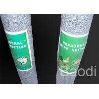 China Galvanized Metal Chicken Wire In Roll Used For Poultry Fencing on sale