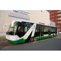 China Anti - Slip Low Floor Tarmac Coach Apron Bus With IATA Standard wholesale