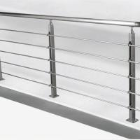 China Solid Rod Stainless Steel Railing Design for Balcony / Stairs wholesale