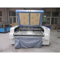 Cheap Laser Fabric Cutter CO2 Laser Cutting Engraving Machine , Laser Power 100W for sale