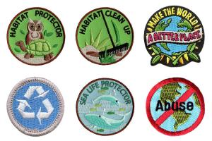 China Clothing Decoration 3D 7.5cm Environmental Patches Shrink Proof wholesale