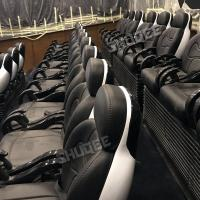 Buy cheap Customized Size 7D Movie Cinema Widescreen With Comfortable Black Luxury Genuine from wholesalers