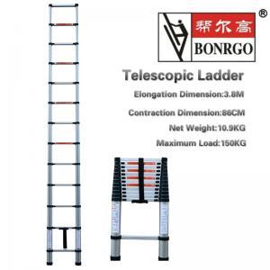 China 13 Step Aluminium Telescopic Ladder wholesale