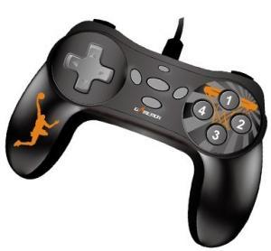 MINI 10 Button Digital Wireless Pc Gamepad Without Vibration