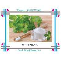 Buy cheap Pharmaceutical Grade Natural Botanical Extracts Colorless Crystals Menthol CAS 15356-70-4 from wholesalers