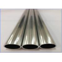 China Seam Brazing Aluminum Pipe GB/T 5237 Standard High Strength Material wholesale