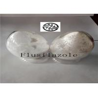 China White Solid Flusilazole Fungicide , Broad Spectrum Fungicide High Purity wholesale