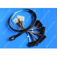 China 1M Serial Attached SCSI Cable Mini SAS 36-Pin Male To SAS 29-Pin Female Cable wholesale