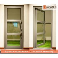 China Single Pane Internal Aluminium Glass Doors For Residential House Color Optional wholesale
