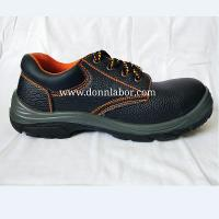 China Gas and Oil Field Waterproof Preventing Punction PU Leather Outsole Safety Shoes wholesale