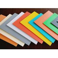 Buy cheap High Density Rigid Durable Fluted Plastic Sheet With Customized Size And Color from wholesalers
