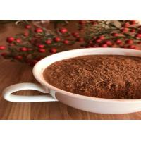China Healthy Unsweetened Dark Brown Cocoa Powder , Alkalized Baking Cocoa Powder wholesale