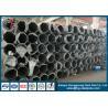 China 68KV Philippines Steel Tubular Pole For Transmission Line Project wholesale