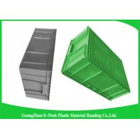 Quality Large Standard Warehouse Plastic Euro Stacking Containers 800*600*340mm wholesale