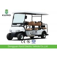 China Luxury Driving Cabin Club Car 6 Passenger Golf Cart With 2 External Rearview Mirrors wholesale