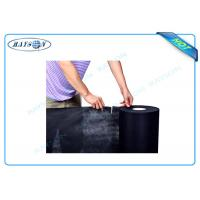 Quality Black Color Perforated Polypropylene Nonwoven Fabric For Safe and Mattresses wholesale