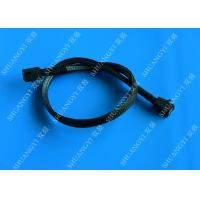 China HD Mini SAS Cable With Sideband 0.8 Meter / 2.6ft Foldable Flexible 2 Pack wholesale