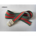 Woven canvas belt, cotton belt
