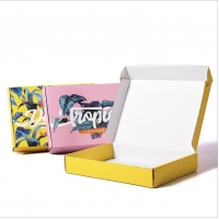 Buy cheap Aqueous Coating Clothing Corrugated Packaging Box from wholesalers