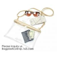 Quality Fashion Clear Purses PVC Crossbody Bag Snakeskin Fringe Clutch Handbag Stadium for sale