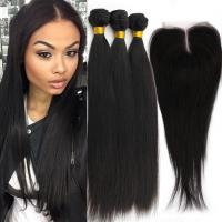 China Remy Human Double Weft  Virgin Cambodian Loose Wave Hair Natural Black wholesale