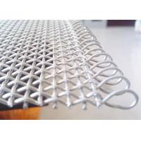 China 316 Stainless Steel Wire Mesh Belt With Loop Edge, Belt Decorative Wire Mesh wholesale