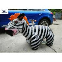 China Cute Animatronic Motorized Animal Scooters Remote Control Coin Operated wholesale