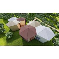 Buy cheap Luxury Honeycomb PREFab House For Resort, Restaurant from wholesalers