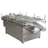 China 1-5 layers High Frequency new type design linear vibrating screen for yellow peas flour wholesale