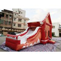 China Commercial grade inflatable Christmas jumping castle with slide for kids and adults wholesale