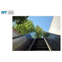 China PLC Drive Outdoor Escalator Safety Hot Dipped Galvanized Truss Black Handrail on sale