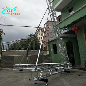 China 6061-T6 Aluminum Alloy Line Array Sound System Spigot Type wholesale