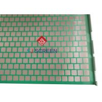 China 2000 48- 30 PWP Solid Control Shaker Screen , Shale Shaker Mesh Screen 1053x697mm Size wholesale