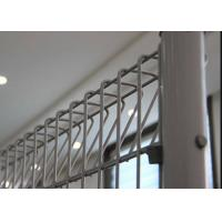 Buy cheap Strong BRC Mesh Fencing Defensive Roll Top Bottom Security Welded Fence from wholesalers