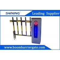 Quality 2.0 mm Cold Steel Driveway car Parking Barrier Gate With Led Light wholesale