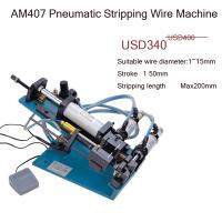China AM407  4 core pvc cable stripper machine semi-automatic wholesale