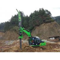 China Stable Ground Bored Hole Pile Driving Machine KR50A Green Color wholesale