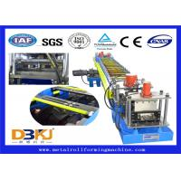 Quality Constructional Use Purlin Roll Forming Machine / Full Auto Cold Roll Former wholesale
