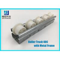 Buy cheap Slider Roller Track Type 40C Width 40mm Metal Frame for Conveyors and Flow Rack from wholesalers