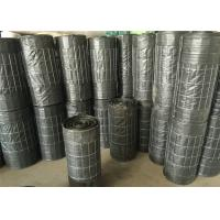 Quality Galvanized 4x4 welded wire mesh backed silt fence , welded wire mesh roll anti silt wholesale