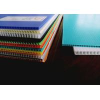 Buy cheap Waterproof And Lightweight Fluted Twin Wall Plastic Sheet from wholesalers