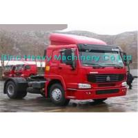Quality Green 290HP Manual Prime Mover Truck , SINOTRUK Howo 4X2 Tractor , Color Can Be Selected for sale