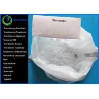 Buy cheap Oral Anabolic Steroids Raw White Crystalline Powder  CAS 10418-03-8 Winstrol Stanozolol for Bodybuilding Lean Muscle from wholesalers