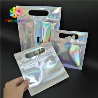 Buy cheap Skincare Cosmetic Packaging Bag Hologram Foil Bath Salt Packing With Window / from wholesalers