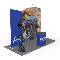 Quality Portable Exhibition Displays , 10x10 Pop Up Trade Show Display Modular Versatile for sale